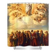 Ascension Of Christ Shower Curtain