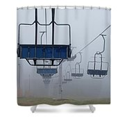 Ascent From The Mist Shower Curtain