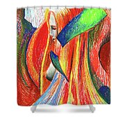 Ascent Of Water Shower Curtain