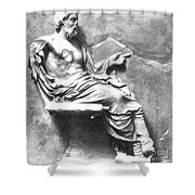 Asclepius Shower Curtain