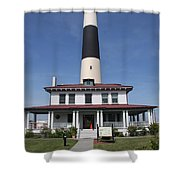 Asecon Lighthouse Shower Curtain