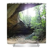 Ash Cave Shower Curtain