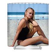 Ash329 Shower Curtain