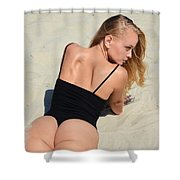 Ash340 Shower Curtain