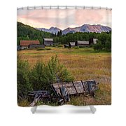 Ashcroft Ghost Town Shower Curtain