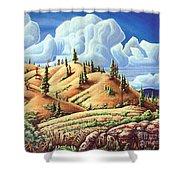 Ashcroft Landscape Shower Curtain
