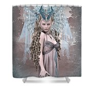 Ashen Queen Of The Mountain 2 Shower Curtain