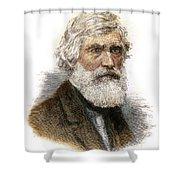Asher B. Durand, 1796-1886 Shower Curtain