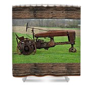 Ashes To Ashes - Rust To Rust Shower Curtain