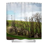 Ashes To Ashes Shower Curtain
