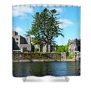 Ashford Castle And Cong River Shower Curtain