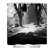 Ashland Cemetery Shower Curtain