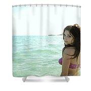 Ashley Greene Shower Curtain
