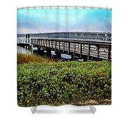 Ashley River Sc Shower Curtain