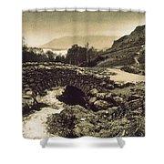 Ashness Bridge Cumbria England Shower Curtain