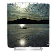 Ashokan Sunset Photograph Shower Curtain