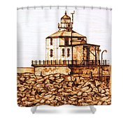 Ashtabula Harbor  Shower Curtain