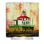 Ashtabula Lighthouse Shower Curtain