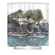 Ashton Garden's Tampa Shower Curtain