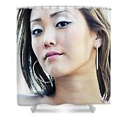 Asian Art Shower Curtain