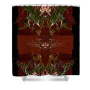 Asian Spice Shower Curtain