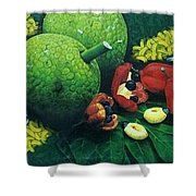 Ackee And Breadfruit  Shower Curtain