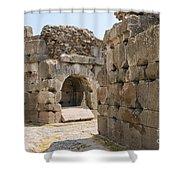 Asklepios Temple Ruins Shower Curtain