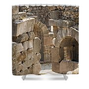 Asklepios Temple Ruins View 3 Shower Curtain