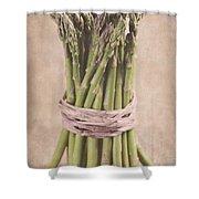 Asparagus Spears Shower Curtain