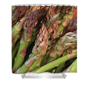Asparagus Tips 2 Shower Curtain