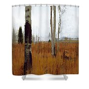 Aspen Forest Shear II Shower Curtain