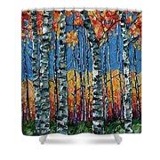 Aspen Grove By Olena Art Shower Curtain