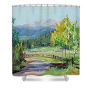 Aspen Lane Shower Curtain
