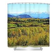 Aspen Valley Shower Curtain