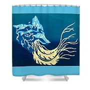 Asphyxiation Shower Curtain
