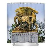 Aspiration And Literature Shower Curtain
