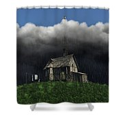 Aspirations Shower Curtain