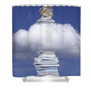 Aspirations Of Knowledge Shower Curtain