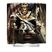 Assassin's Creed IIi Shower Curtain