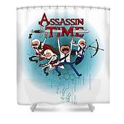 Assassintime Shower Curtain