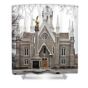 Assembly Hall Shower Curtain