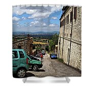 Assisi Italy I Shower Curtain