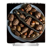 Assorted Nuts Shower Curtain