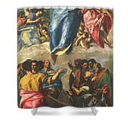 Assumption Of The Virgin 1577 Shower Curtain