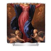 Assumption Of The Virgin 1580 Shower Curtain