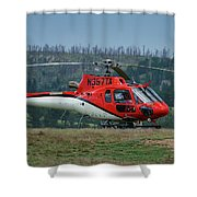 Astar At Prairie Dog Fire Shower Curtain