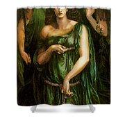 Astarte Syriaca Dante Gabriel Rossetti Shower Curtain