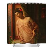 Asterie Shower Curtain