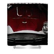 Aston Martin Db-4 Sans Paint Shower Curtain