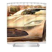Aston Martin Db10 Shower Curtain